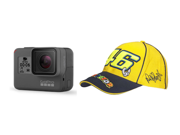 Review of the GoPro Hero 6 and win a signed Rossi cap with Action Gear