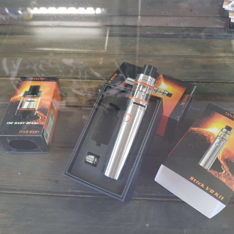 Barber vape tattoo 2600