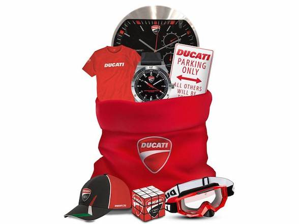 Ducati December Deals: 10% off apparel with 2017 models