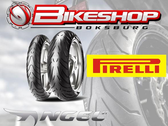 Bikeshop Boksburg tyre special: Pirelli Angel ST combo R2750