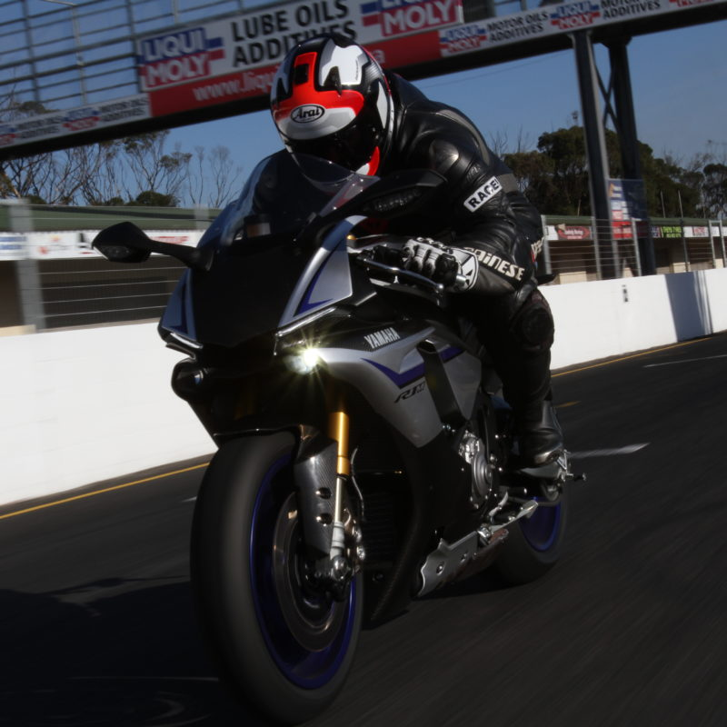 Bike Launch Yamaha R1 R1m At Killarney Raceway The Bike Show