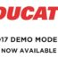 Ducati demo deal feature