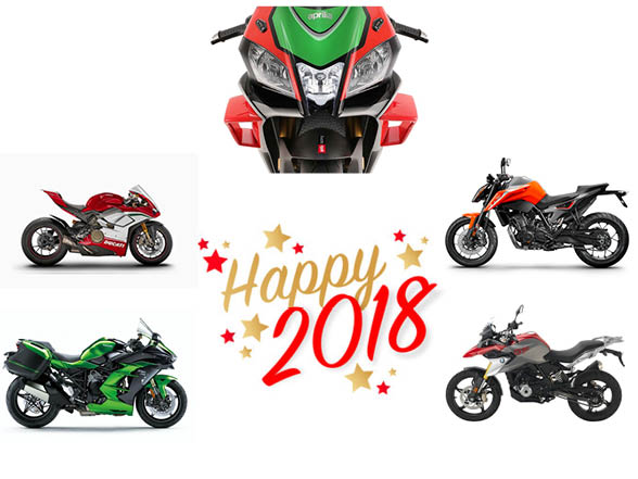 Welcome to 2018 from The Bike Show team
