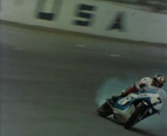 Barry Sheene Daytona Crash danger