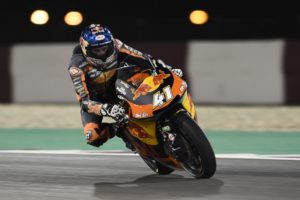 Brad Binder Sideways