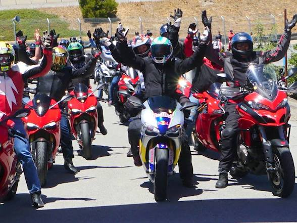 Ducati SA first breakfast run of 2018 – Sunday 14 January