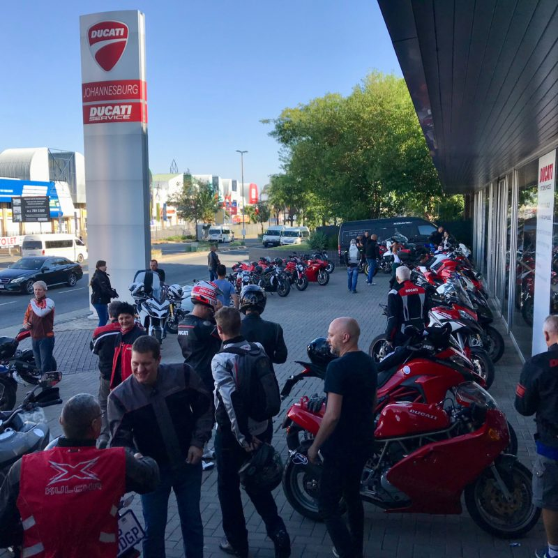 Ducati breakfast run val hotel 3223
