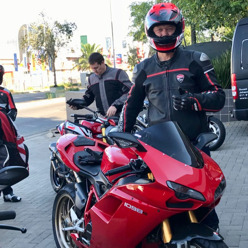Ducati breakfast run val hotel 3226