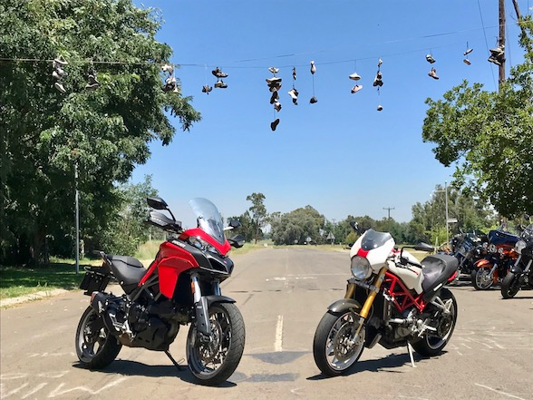 Ducati Breakfast Run to Val Hotel – story & gallery