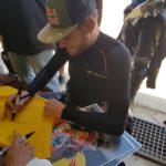 Dunlop Brad Binder Track Day 1