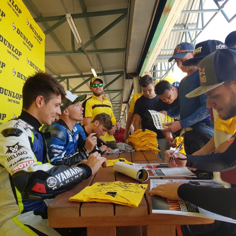 Dunlop Brad Binder Track Day 20
