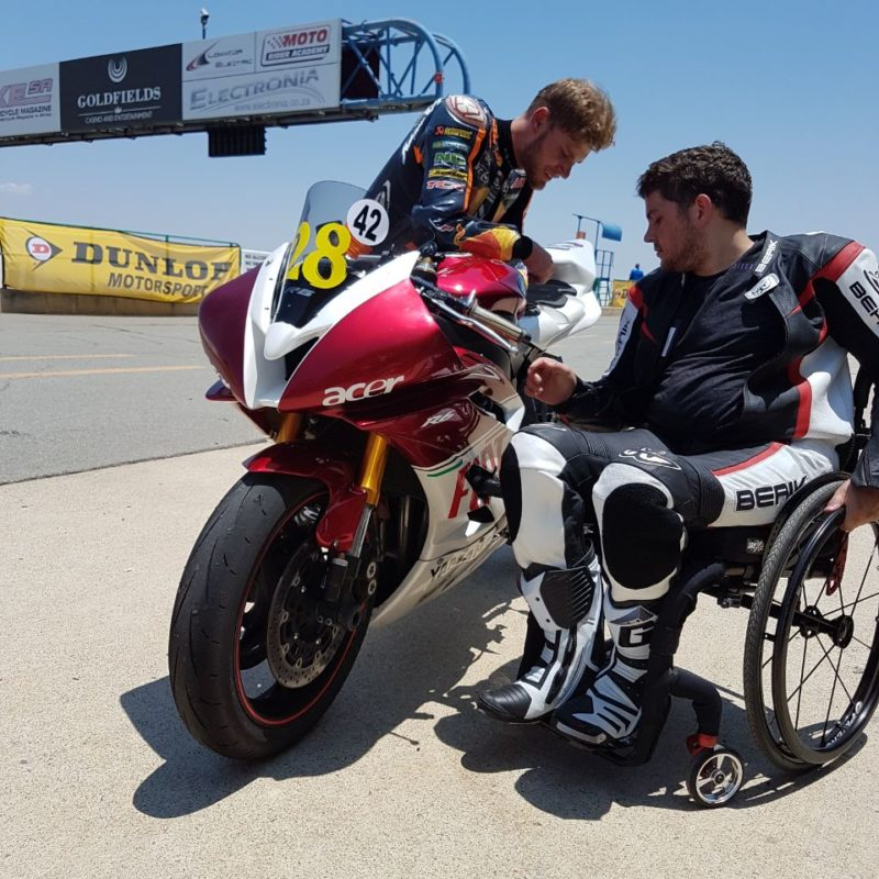 Dunlop Brad Binder Track Day 7