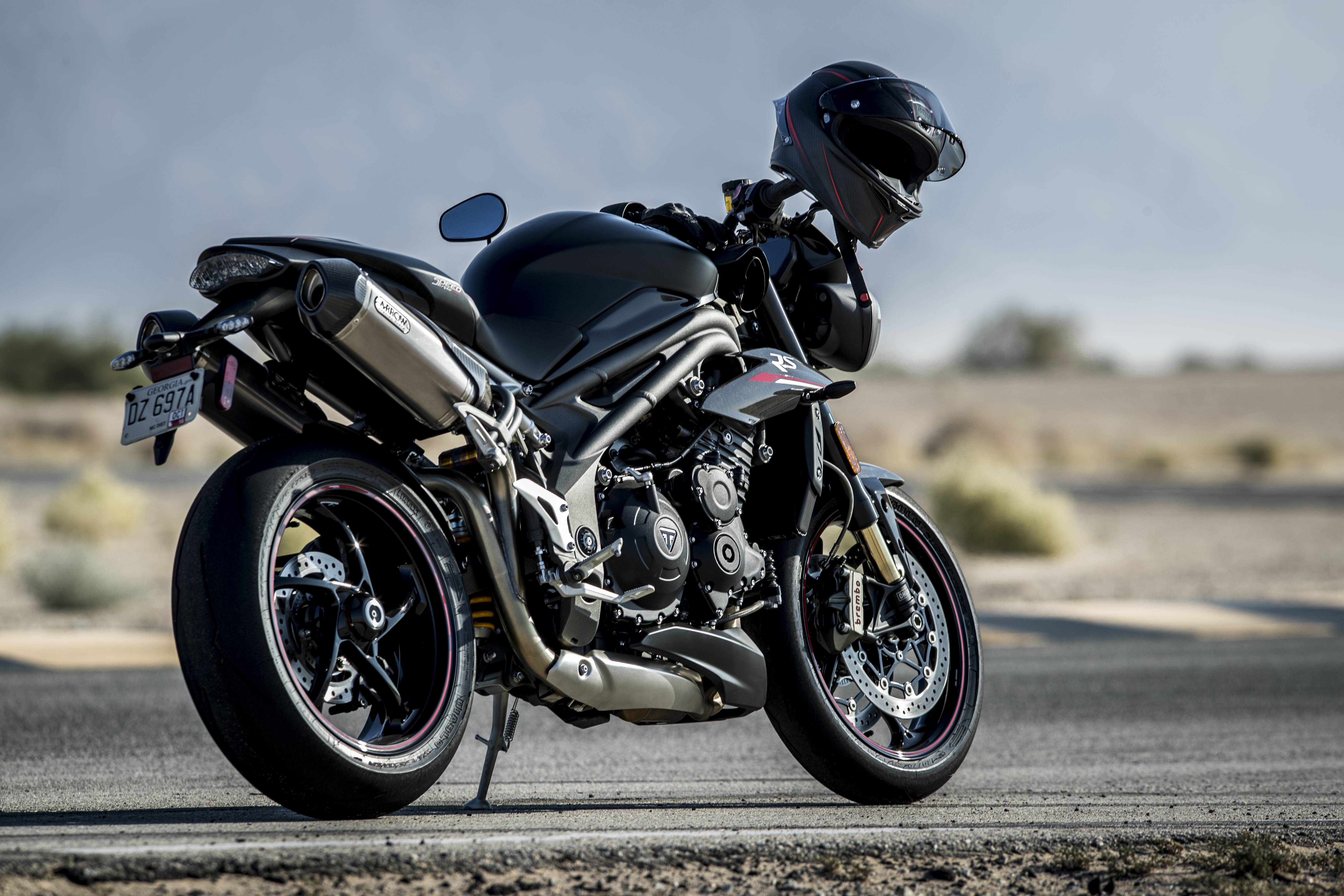 The New Triumph Speed Triple Story Images And Video The Bike Show
