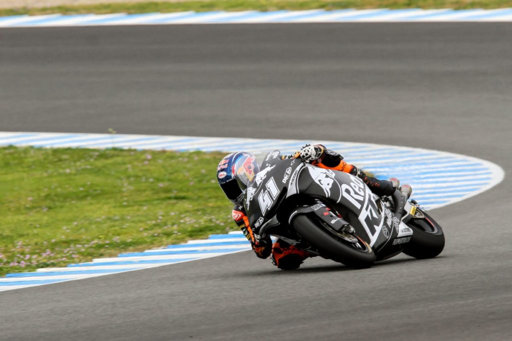 Brad Binder Jerez Test Day 1 KTM Moto2