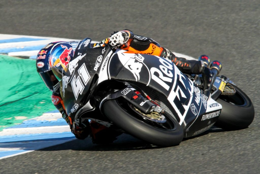 Brad Binder Jerez Test day three