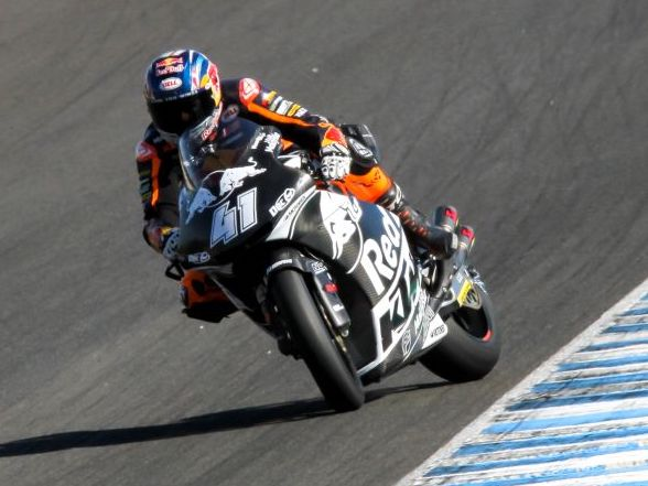 Brad Binder finishes third at Jerez test
