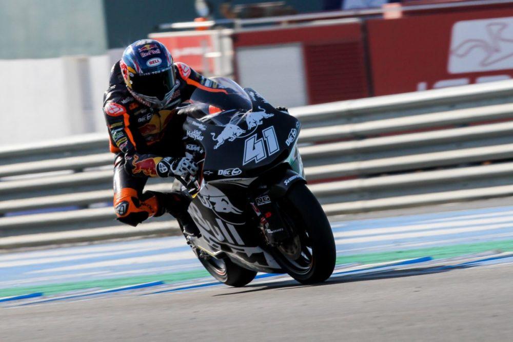 Darryn Binder KTM Ajo Jerez Test Day two - The Bike Show