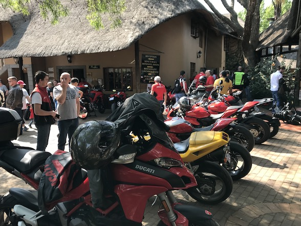 DOCSA Ducati Breakfast Run to Valverde