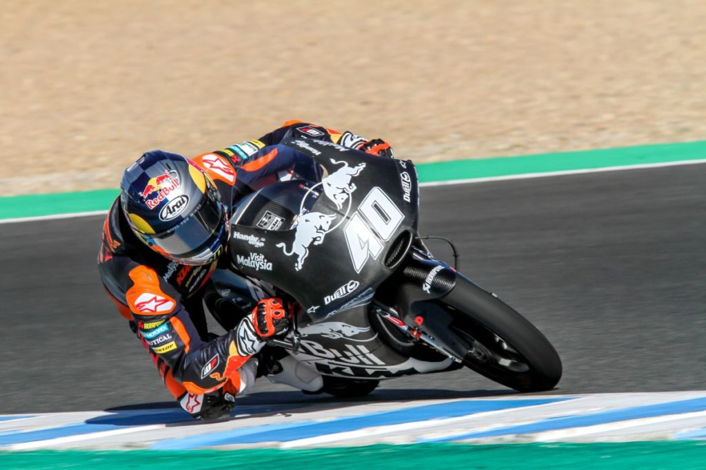 Darryn Binder KTM Ajo Jerez Test Day two