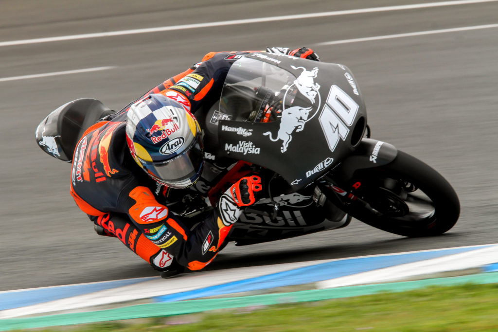 Darryn Binder Moto3 KTM Jerez Test Day 1