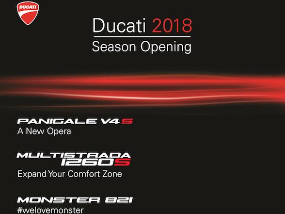 Ducati SA to unveil Panigale V4 – 17 & 18 February