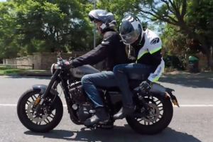 "Video: Pillion seat is ""like a sex toy not made for men"""