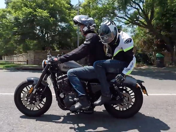 """Video: Pillion seat is """"like a sex toy not made for men"""""""