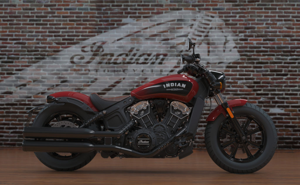 Indian Scout Bobber cool 4