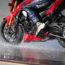 Michelin Road5 wet brake test