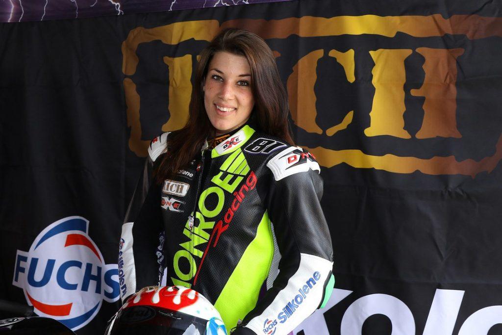 Monroe Racing Ladies Cup Zoé portrait
