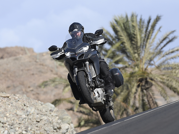 Video: The Ducati Multistrada 1260 in Gran Canaria