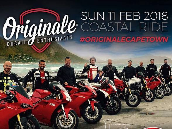 Originales Ducati Coastal Run – CT, Sunday 11 Feb