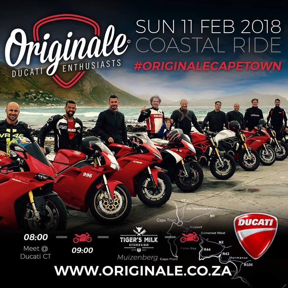 Originales Cape Town Ducati Breakfast Run