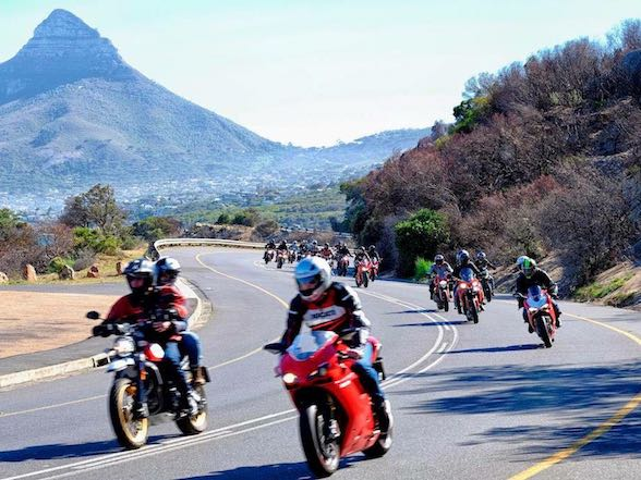 Gallery & Story: Originale Ducati Cape Coastal Ride