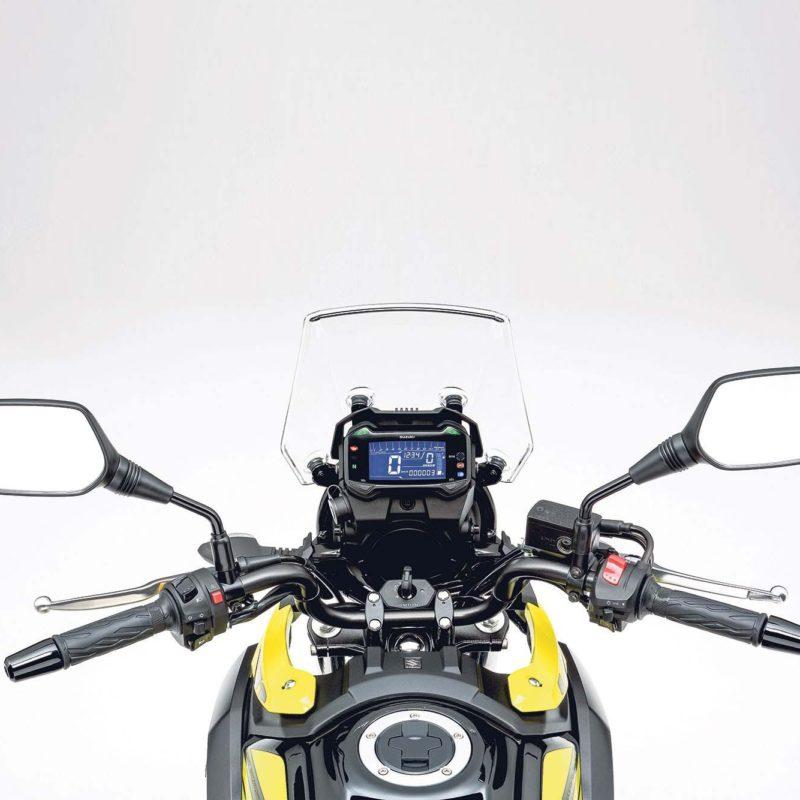 Suzuki DL250 V-Strom dash