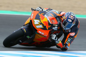 Brad Binder finishes third on day two of Jerez test