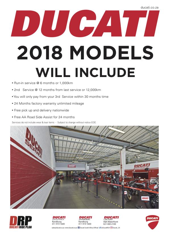 Ducati Service 2018 models free