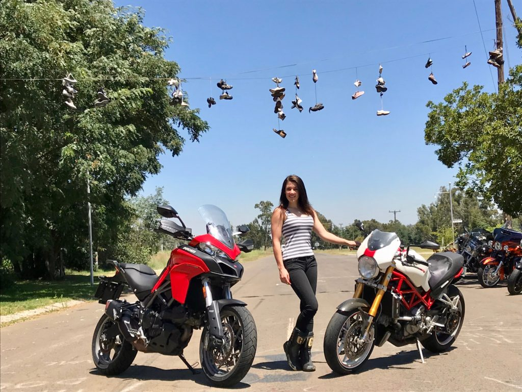 Ducati Zoe Bosch owners group south africa ambassador