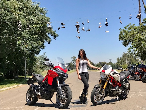 Zoé Bosch becomes Ducati Owners Group ambassador