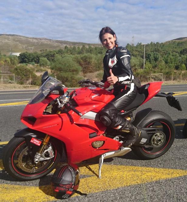 Ducati v4 test ride