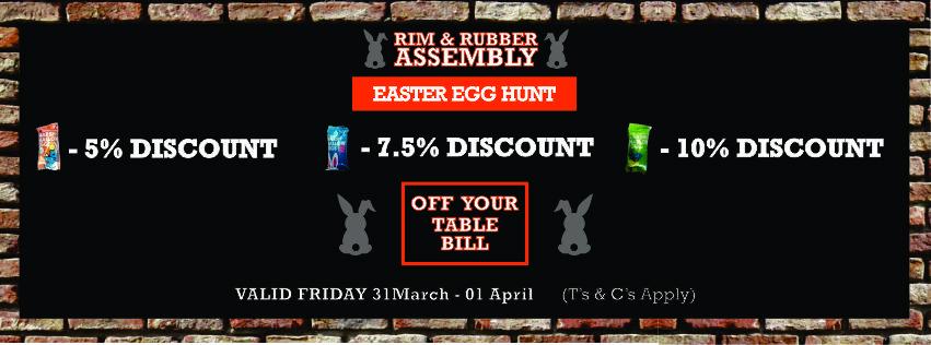 Easter Egg Hunt FB Banner Rim & Rubber April