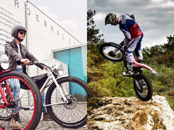 Electric bike review: Meijs style & Electric Motion trials