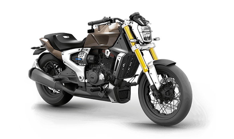 Electric motorcycles india TVS hybrid Zeppelin