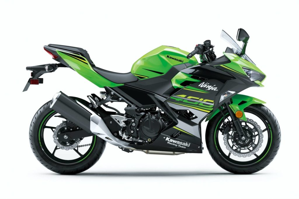 Fire It Up 2018 Kawasaki models Ninja 400