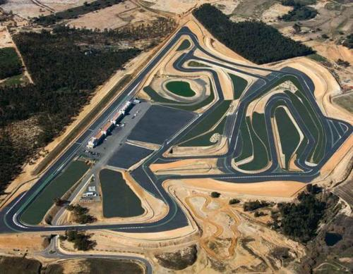 Michelin Road 5 Monteblanco circuit
