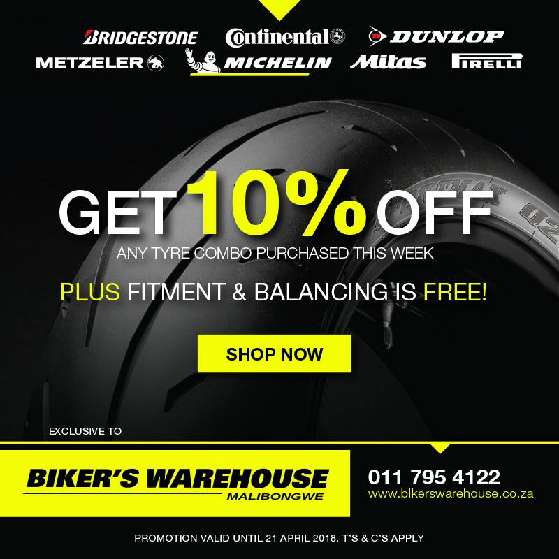 !0% off tyre combos bikers warehouse puzey