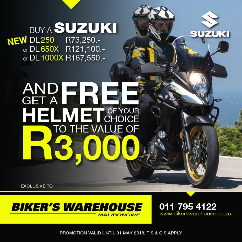 Bikers Warehouse DL Suzuki Special