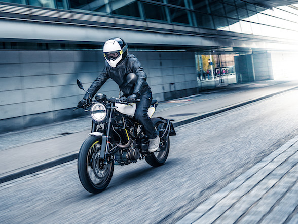 First chance to ride a Husky 401 tomorrow at Biker's Warehouse