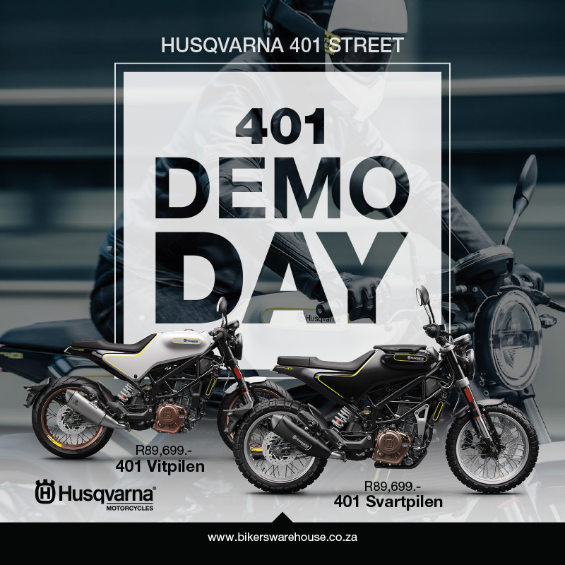 Bikers Warehouse Puzey Vitpilen Svartpilen Husqvarna Demo Day