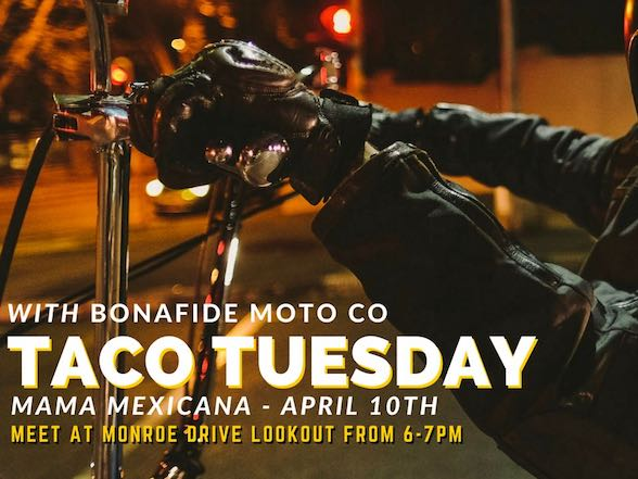 Bonafide Retro Ride to Mama Mexicana tonight